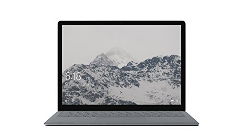 Microsoft 13.5-inch Touchscreen Surface Laptop (Platinum) - (Intel Core i5-7200U, 4GB RAM, 128GB SSD, Intel HD 620 Graphics, Windows 10 S)