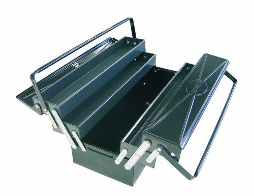 Werkzeugkasten, Werkzeugbox aus Metall, abschließbar, ca. 54 x 20 x 20 cm