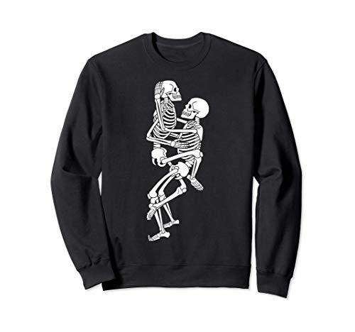 Halloween Travieso Sexy Sexo en el esqueleto Sudadera