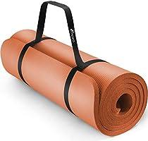 TRESKO Tapis d'exercice Fitness Tapis de Yoga Tapis de Pilates Tapis de Gymnastique, Dimensions 185 x 60 x 1,5 cm ou et...