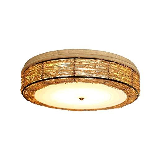 SPNEC Lámpara de diseño Creativo Rattan Arte del Techo Antiguo Elegante Comedor Salón Cama y Desayuno Dormitorio de la lámpara de iluminación
