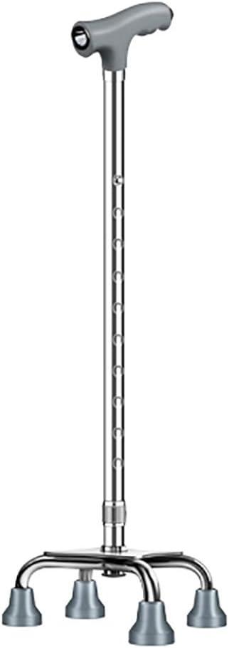 FKDEGUNZ Aluminum Walking Stick Height Adjustable Suitable for H