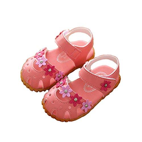 Chaussures creux Sandales d'été New Girls Sandales Princesse coréenne bébé
