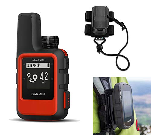 Great Deal! Garmin inReach Mini (Orange) Satellite Communicator Bundle with Hiking Backpack Tether |...