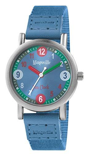 mingoville Fun Clock Horloge d'apprentissage avec App–Bracelet de montre Mixte a46a652–4s8a