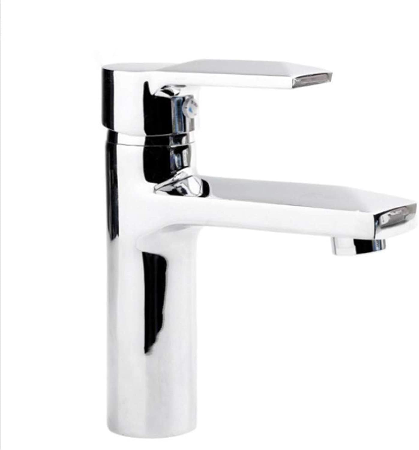 Basin Taps Swivel Spout Faucet Brass Diamond Single Hole Bathroom Washbasin Washbasin Faucet Hot and Cold Mixing Faucet