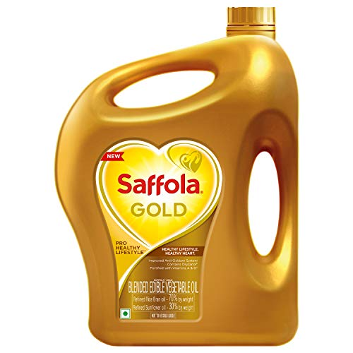 Saffola Gold, Pro Healthy Lifestyle Edible Oil Jar...