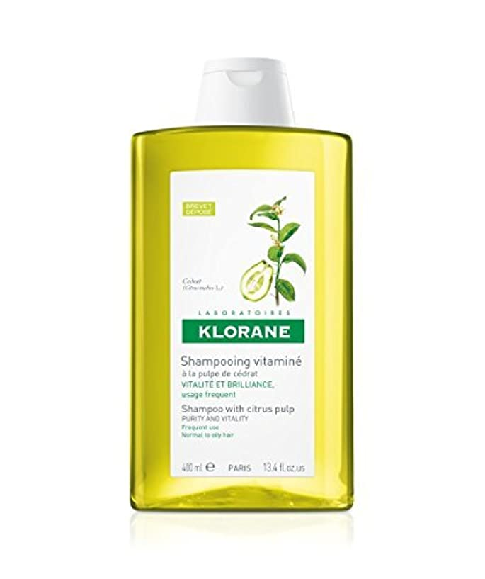 セール欠陥船形Shampoo with Citrus Pulp, 13.4 oz by Klorane [並行輸入品]
