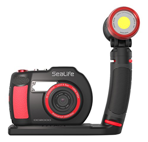 Sealife SL744 DC2000 Pro Light Kamera-Set schwarz/rot