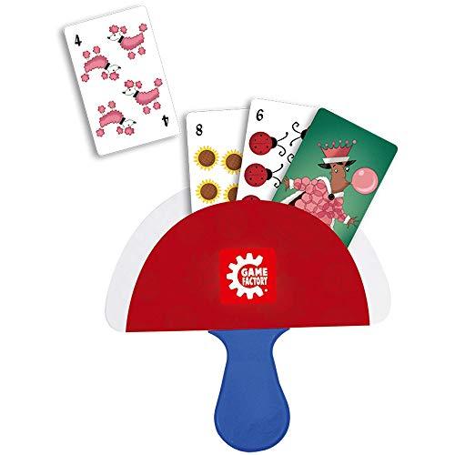 GAMEFACTORY 646174 einfache Handhabung Little Händs-Kartenhalter