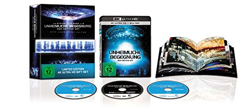 Unheimliche Begegnung der Dritten Art (40th Anniversary Ultimate Edition 3 Disc-Box Set) (exklusiv bei Amazon.de) [Blu-ray]