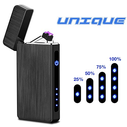 Arc Lighter USB Rechargeable Electric Lighters Windproof Flameless Lighter Arc Plasma Lighter with...