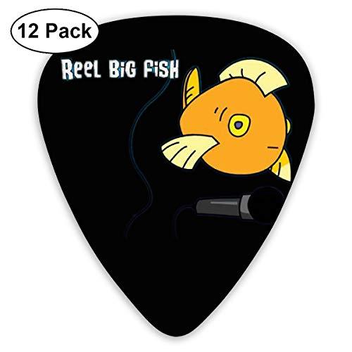 PPCCLPPO Reel Big Fish Púas De Guitarra Púa Para Guitarra Para ...