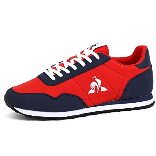 Le Coq Sportif Astra, Zapatillas Deportivas Unisex Adulto, Pure Red, 42 EU