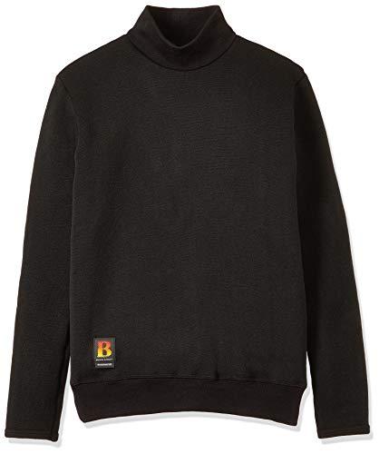 シマノ(SHIMANO) ブレスハイパー+℃ ストレッチハイネックアンダーシャツ(超極厚タイプ) IN-031R ブラック L