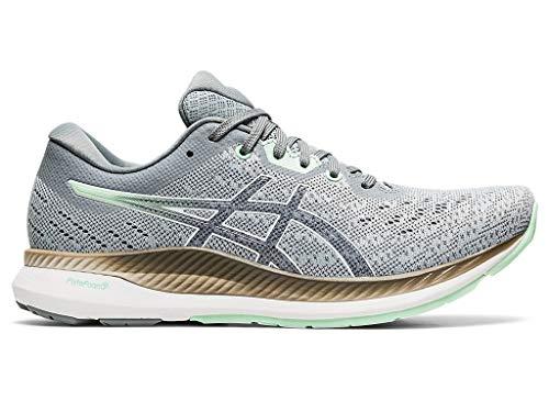 ASICS Women's EvoRide Running Shoes, 7M, Piedmont Grey/Mint Tint