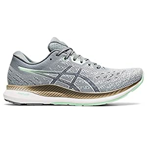ASICS Women's EvoRide Running Shoes, 11, Piedmont Grey/Mint Tint
