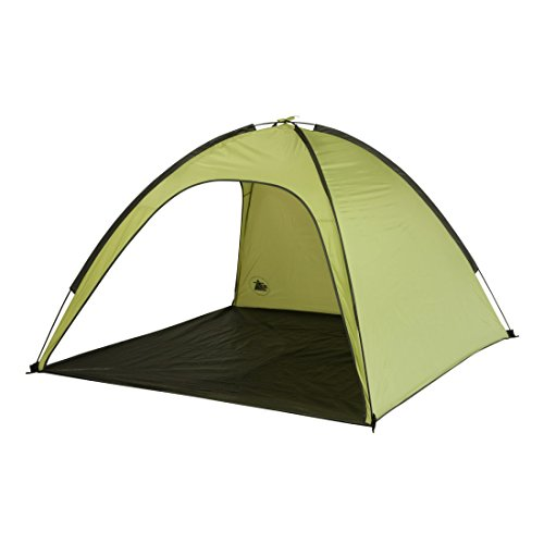 10T Strandmuschel Aruba UV 80 Strandzelt 3 Mann Sonnenschutz XL Familien Windschutz Zelt
