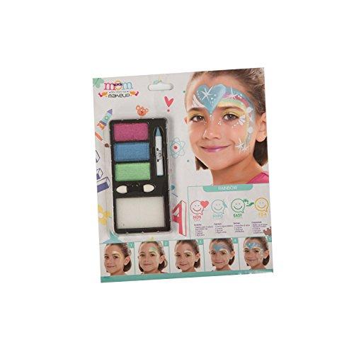 My Other Me Me-207098 Kit Maquillaje Infantil Perlado Arco-Iris, Talla única (Viving Costumes 207098)