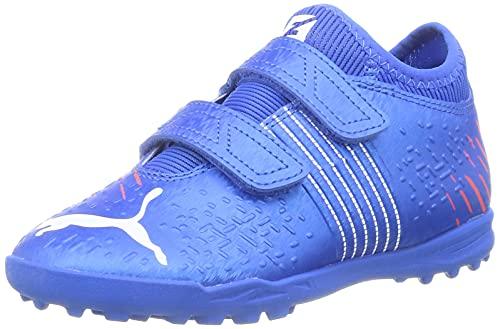 Puma Future Z 4.2 TT V Jr, Zapatillas de fútbol, Bluemazing Sunb, 34 EU