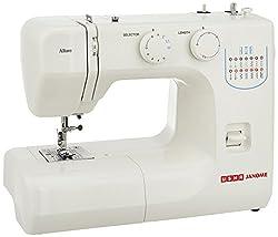 Usha Janome Allure Automatic Zig-Zag Electric Sewing Machine (White),Usha