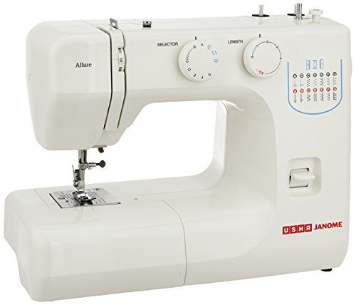 Usha Janome Allure Automatic Zig-Zag Electric Sewing Machine...
