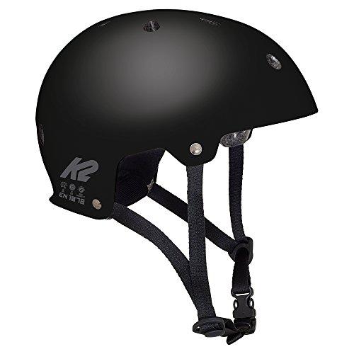 K2 Erwachsene Inline Skates Helm Varsity - Schwarz - S (48-54cm) - 30C4000.1.1.S