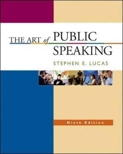 The Art of Public Speaking with Learning Tools Suite (Student CD-ROMs 5.0, Audio Abridgement CD set, PowerWeb, & Topic F
