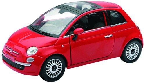 Newray 71016 - Fiat 500, Scala 1:24, Die Cast, Rosso