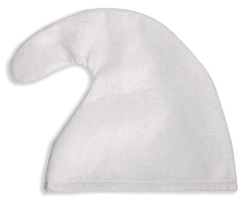 Unbekannt 7 x Zwergenmütze Mütze WEIß oder ROT - B Ware 1-3 Flecken --für Kopfumfang von ca. 56 cm-- Zwerg Fasching Karneval Fastnacht für Kostüm Schlumpf Gnom Rosenmontag (Weiß)