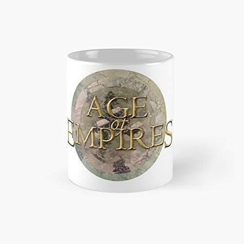 Age of Empires Town Center Vintage Classic Mug | Mejor regalo divertido tazas de café 11 oz