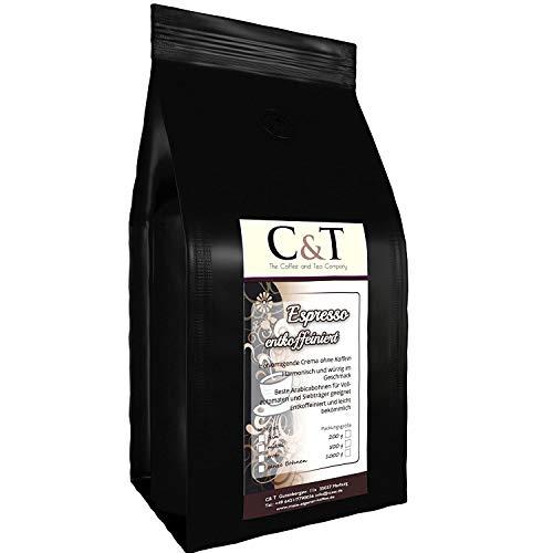 Filterkaffee entkoffeiniert Cafe Crema 3 x 500 g gemahlen für Filter frisch geröstet mit Aromaschutzventil
