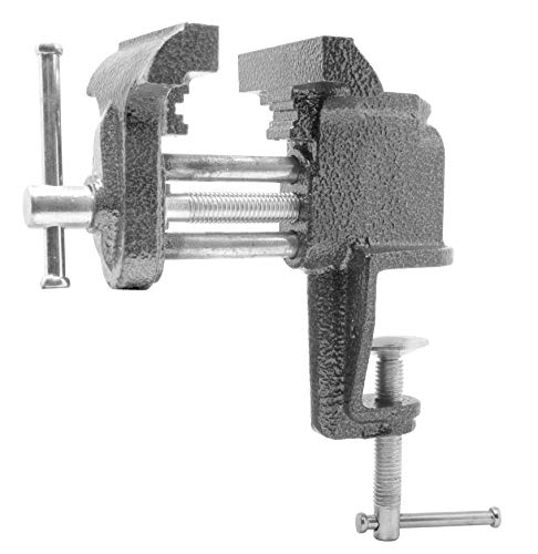 WEN HTV300 3-Inch Cast Iron Clamp-On Home Table Vise