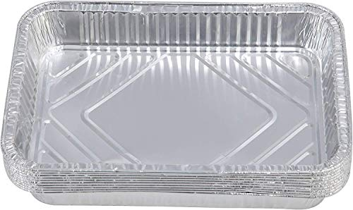 Tepro Aluminium-Tropfschale, 10er Set, Silber