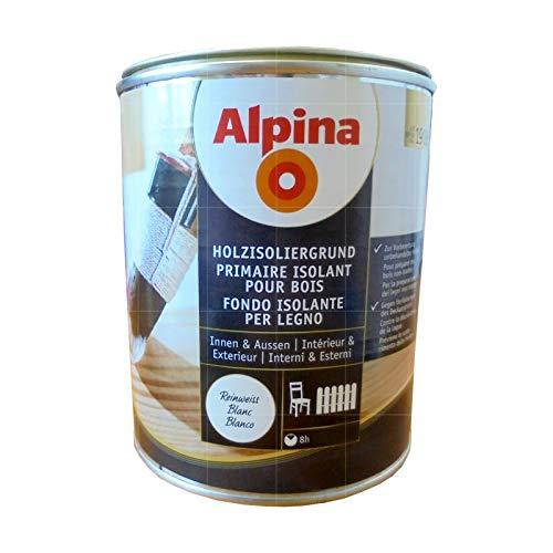 ALPINA HOLZISOLIERGRUND - 0.75 LTR (REINWEISS)