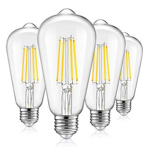 Vintage LED Dimmable Edison Light Bulbs...