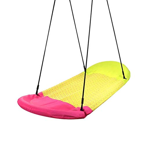 JTKDL Swing, Silla de Swing de Nido de pájaro Interior y al Aire Libre (Color : Green)