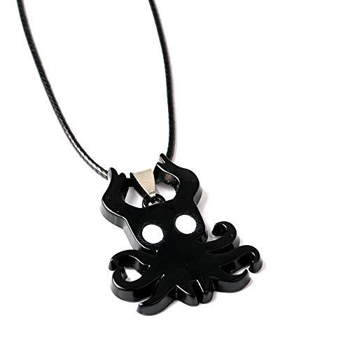 Llaveros para Mujer Hollow Knight Octopus Alloy Llavero