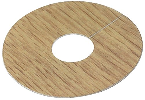 Quality Self Adhesive Pipe Covers for Laminate Floors Light/Natural Oak (PK 4)