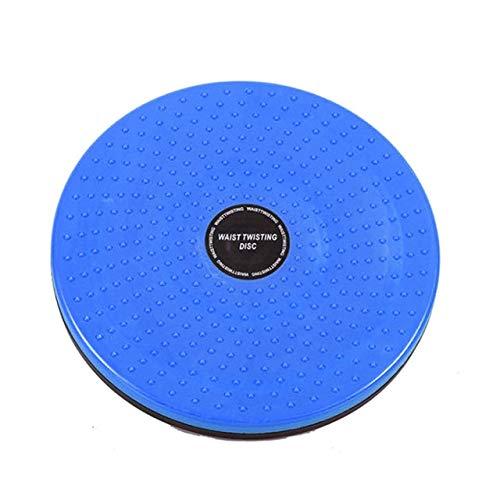 JZCXXJ Twist Board Fitness Balance Waist Twisting Disc Balance Board Physical Massage Women Body Slimming Twister Exercise Equipment Blue