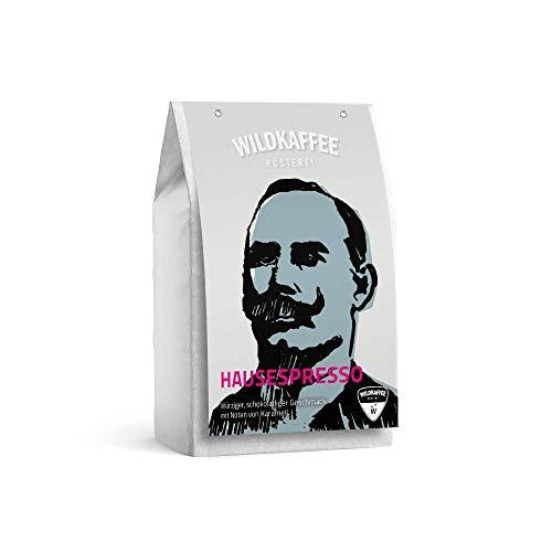 Wildkaffee Rösterei Hausespresso, 1000 g, Ganze Bohne