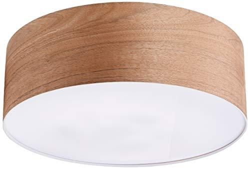 Paulmann 79687 Neordic WallCeiling Liska Deckenleuchte max. 3x20W Deckenlampe für E27 Lampen 230V Holz/Metall ohne Leuchtmittel