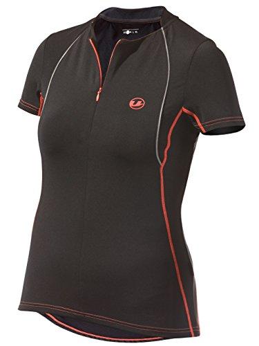 Ultrasport Maglietta da Running Donna con Asciugatura Rapida Quick-Dry, Nero (black dubarry), S