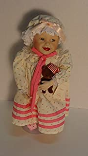 Yolanda Bello Dolls Sarah Picture Perfect Babies 1987 Collectible Porcelain Doll Home Accent Display Decor Yolanda Bello Doll Sarah Curio Cabinet Display Item by Ashton Drake