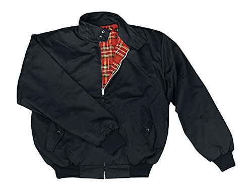"""Knightsbridge veste """"harrington"""" noir-m"""