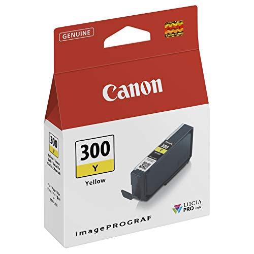 Canon Tintenpatrone PFI-300Y - gelb 14,4 ml - Original für Tintenstrahldrucker