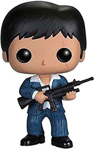 Boxed POP Anime Figur Scarface 86# Tony Montana Statue PVC 4 Zoll Figuren