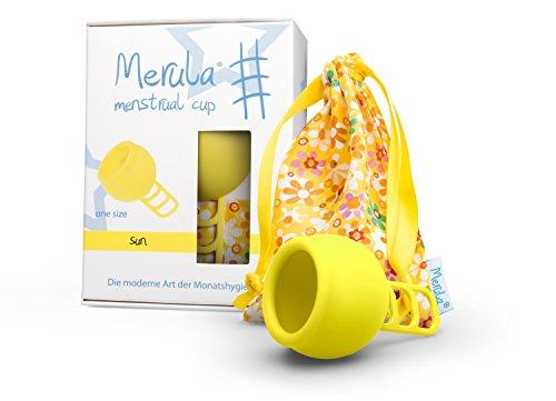 Merula Cup sun (giallo)'one size' - Coppetta mestruale in silicone medicale
