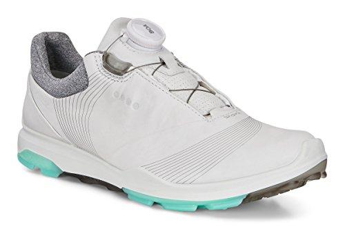 ECCO Biom Hybrid 3 Boa Golfschuhe, Damen, Weiß 50954, 40 EU