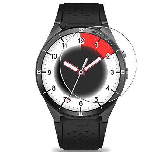 Vaxson 3 Unidades Protector de Pantalla, compatible con Kingwear KW88 Pro Smart Watch [No Vidrio Templado] TPU Película Protectora Reloj Inteligente Film Guard Nueva Versión